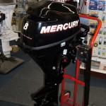 New 8HP Mercury 4-stroke