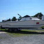 1997 25 FT. Sportcraft Fishmaster 252